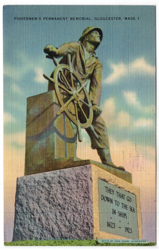 Gloucester, Mass, Fishermen's Permanent Memorial