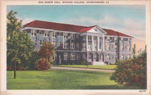 Virginia Harrisonburg Senior Hall Madison College
