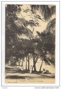 CONAKRY, Guinea,00-10s  Promenade de la Corniche