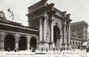 MA - Boston. North Union Station