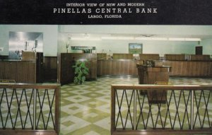 LARGO, Florida, 1950-60s; Interior, Pinellas Central Bank