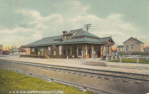 MUNCY , Pennsylvania, 1900-10s ; Pennsylvania & Reading Railroad Depot