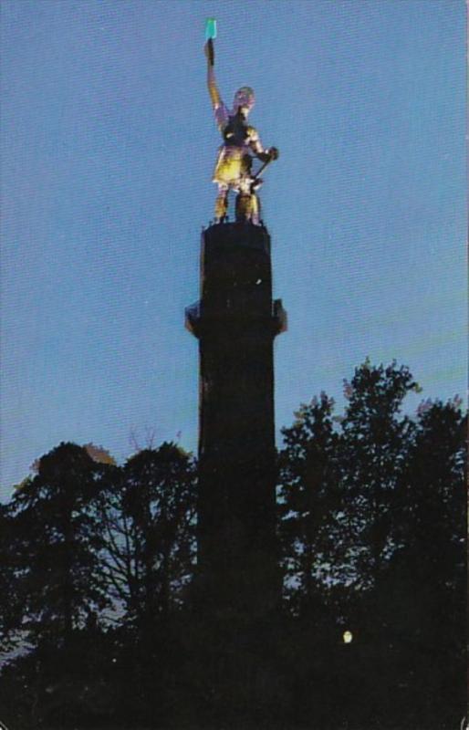 Alabama Birmingahm Vulcan Statue God Of Metals