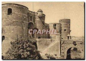 Old Postcard Angers L & # 39entree du Chateau