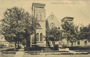 HURON, South Dakota, 1900-1910's; Methodist Church