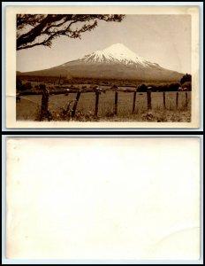 NEW ZEALAND RPPC Photo Postcard - Mt. Cook AH