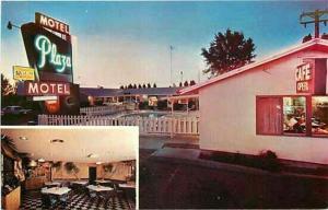 SD, Sioux Falls, South Dakota, Plaza Inn Motel, Multi View, Dexter Press 92678-B