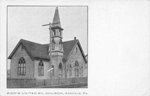 19833 PA, Annville, Zion's United Ev. Church