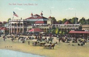 LONG BEACH , California, 1900-10s ; The Bath House