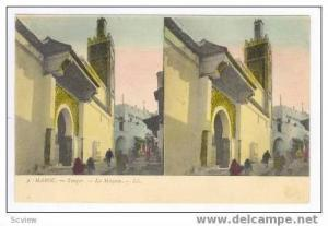 TANGER, Morocco, 00-10s, La Mosquee