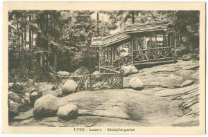 Switzerland, Lucerne, Luzern, Gletschergarten, early 1900s unused Postcard