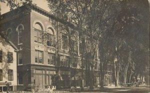 RP: SPRINGFIELD , Vermont, 1910 ; Savings Bank Building