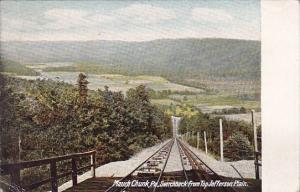 Switchback From Top Jefferson Plain Mauch Chunk Pennsylvania