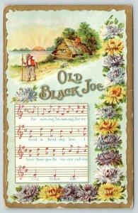 Black Americana~Old Black Joe~Music & Lyrics~Fella With Cane~Sunset~Log Cabin