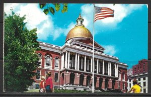 Massachusetts, Boston - The State House - [MA-065]