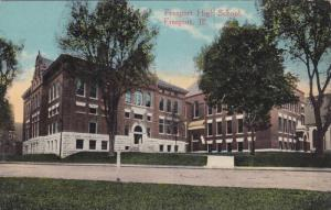 Exterior, Freeport High School, Freeport, Illinois,    00-10s
