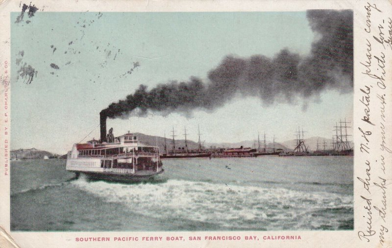 SAN FRANCISCO BAY, California, PU-1906; Southern Pacific Ferry Boat