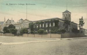 australia, MELBOURNE, St. Patrick's College (1910s)