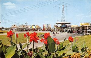 Bowling Green KY Beach Bend Park~Carousel~Go Cart Track~Rides~Groceries~1960s