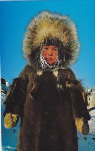Eskimo Youngster , N.W.T. ,  Canada,  40-60s