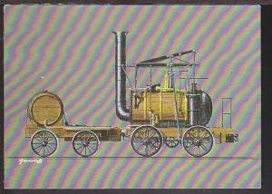 Historic Locomotive Postcard BIN