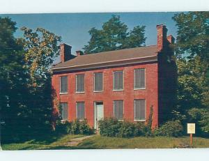 Pre-1980 WILFORD WOODRUFF HOME Nauvoo - Near La Harpe & Carthage IL W3532
