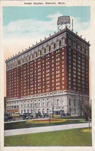 Exterior, Hotel Statler, Detroit, Michigan,  PU-1925