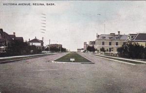 Victoria Avenue, REGINA, Saskatchewan, Canada, PU-1910