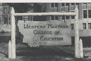 Montana Western Montana College Of Education