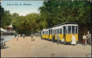 netherlands, BERG EN DAL near Nijmegen, TRAM (1929)