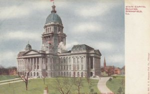 SPRINGFIELD , Illinois , 1900-10s ; State Capitol Building