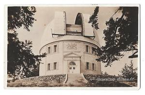 Canada British Columbia Victoria BC Observatory Postcard Size Real Photograph