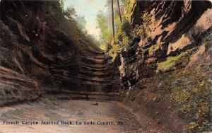 La Salle County Illinois~French Canyon~Starved Rock~No 19 Made in Germany~1910