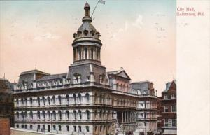 Maryland Baltimore City Hall 1909