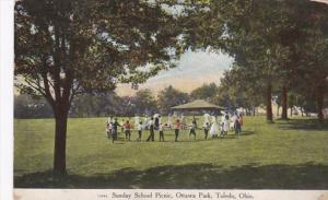 Ohio Toledo Sunday School Picnic In Ottawa Park 1914