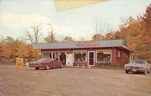 Maple Wisconsin Sundown Cafe Street View Vintage Postcard K101424