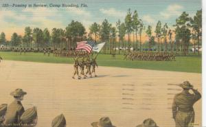 CAMP BLANDING, Florida, PU-1942; Passing in Review