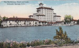 COLORADO SPRINGS , Colorado, 00-10s ; The Broadmoor Hotel & Lake