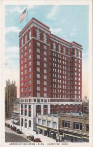 Connecticut Hartford American Industrial Building Curteich
