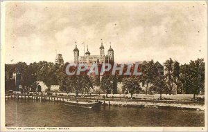 Postcard From Old Tower of London Tower Bridge