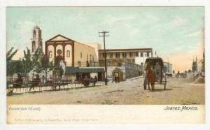(Dirt) Street, Guadalupe Church, Juarez, Mexico, pre-1907