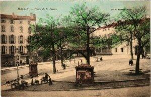 CPA Macon Place de la Barre FRANCE (953089)