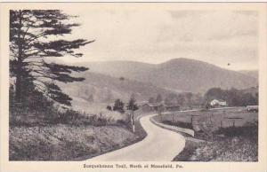 Pennsylvania North Of Mansfield Susquehanna Trail Albertype