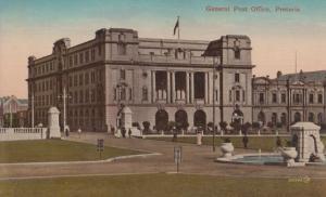 Pretoria South African Post Office Postcard