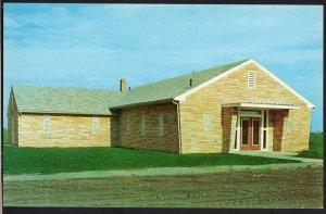 Ohio ~ PAULDING Church of Christ - Chrome 1950s-1970s