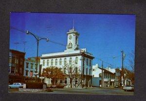 PA First National Bank Greencastle Pennsylvania Postcard Penn Square