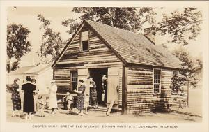 Michigan Dearborn Cooper Shop Edison Institute At Greenfield Village Real Photo