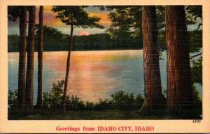 Idaho Greetings From Idaho City