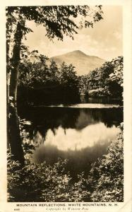 NH - White Mountains, Red Eagle Pond and South Moat Mountain - RPPC