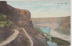 Blue Lakes Snake River Canyon Twin Falls Idaho VintagePostcard